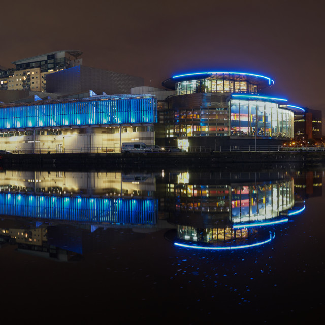"""""""Manchester Salford Quays"""" stock image"""