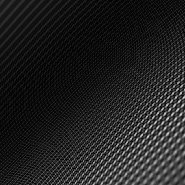 """""""Distorted black carbon fiber smooth on surface."""" stock image"""