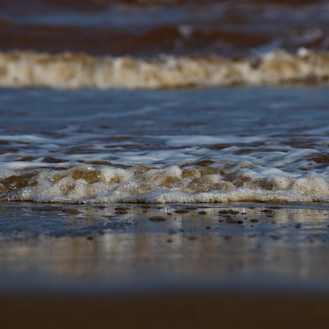 """""""Waves in lines"""" stock image"""