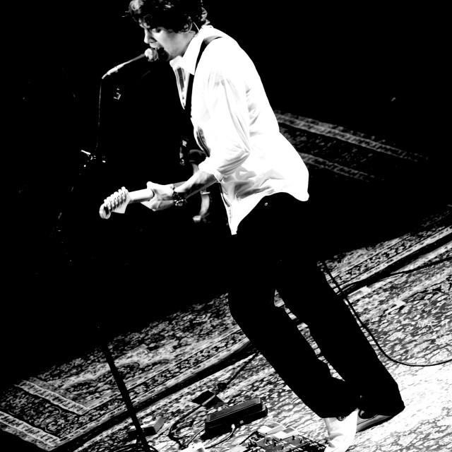 """John Mayer - Royal Albert Hall - Sept 2007 (BW2)"" stock image"
