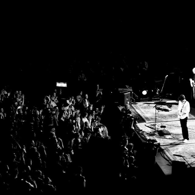"""John Mayer - Royal Albert Hall - Sept 2007 (BW5)"" stock image"