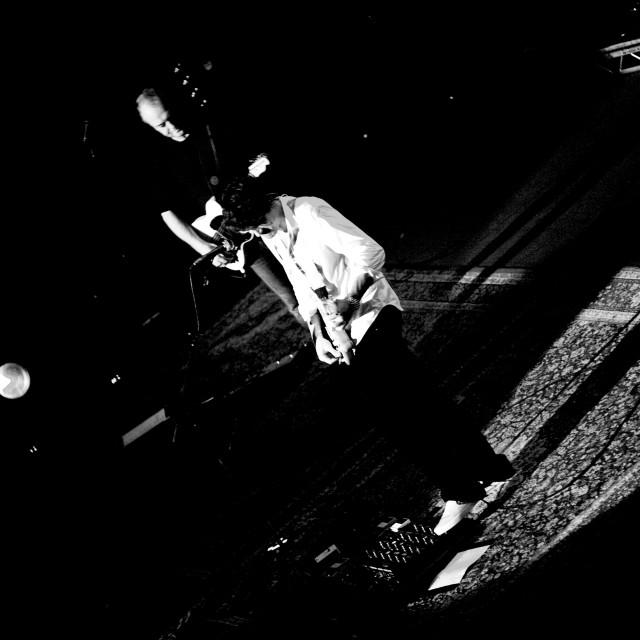 """John Mayer - Royal Albert Hall - Sept 2007 (BW6)"" stock image"