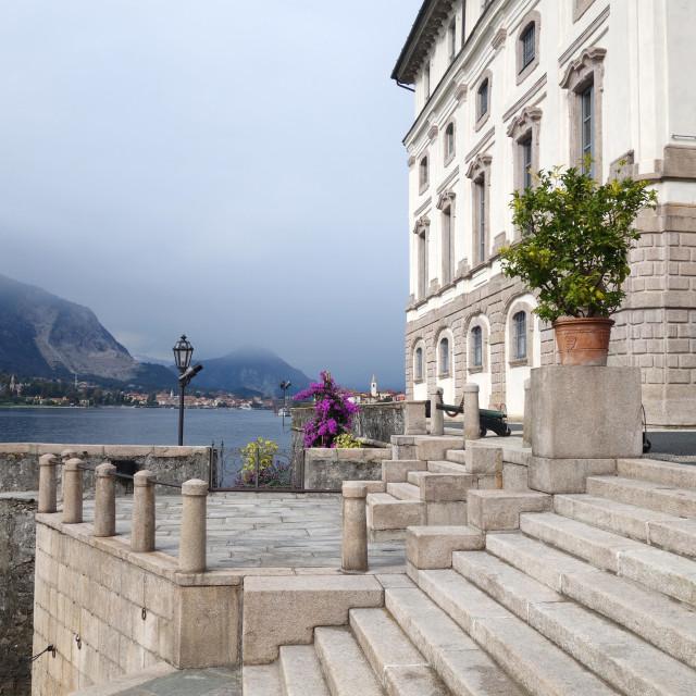 """""""Italy - Lago Maggiore - Isola Bella"""" stock image"""