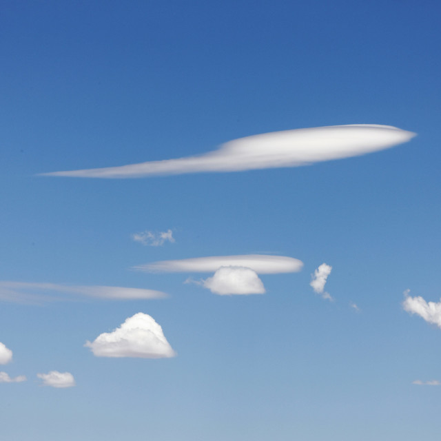 """""""White clouds"""" stock image"""