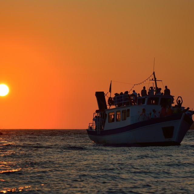 """Sunset at Keri"" stock image"