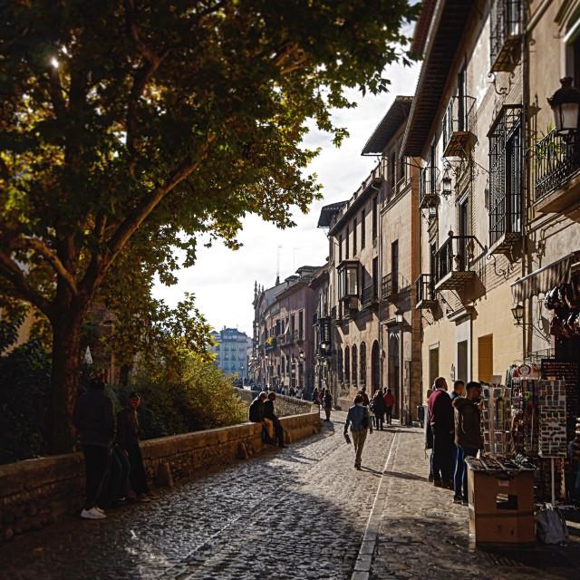 """Granada Spain"" stock image"
