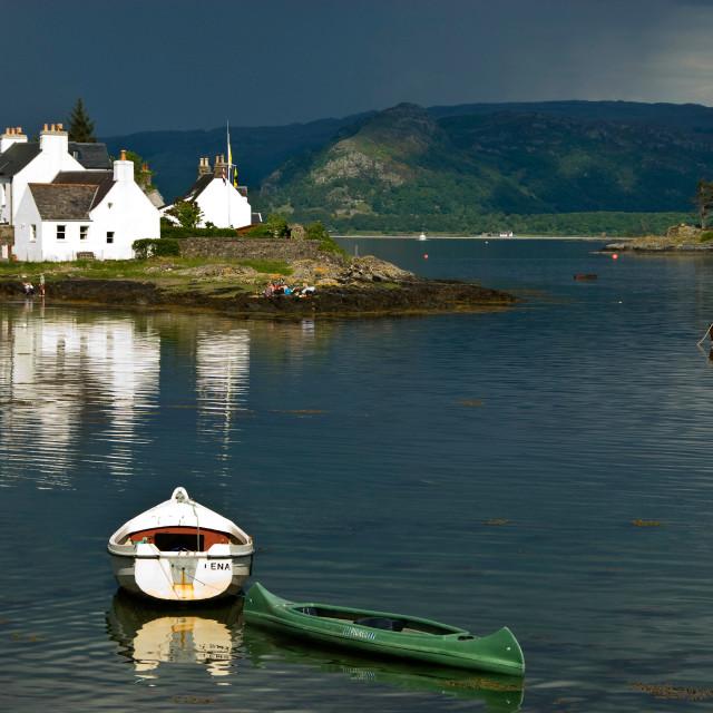 """Plockton, Scotland"" stock image"