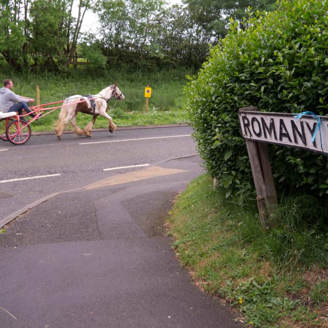 """Appleby Horse Fair, UK"" stock image"