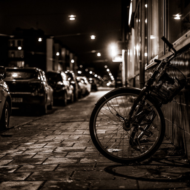 """Bicycle"" stock image"