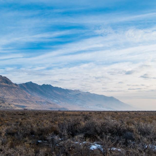 """Stansbury Mountains, Utah"" stock image"