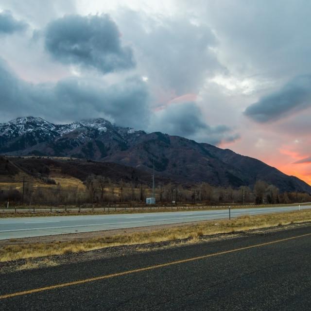 """Thurston Peak, Utah"" stock image"