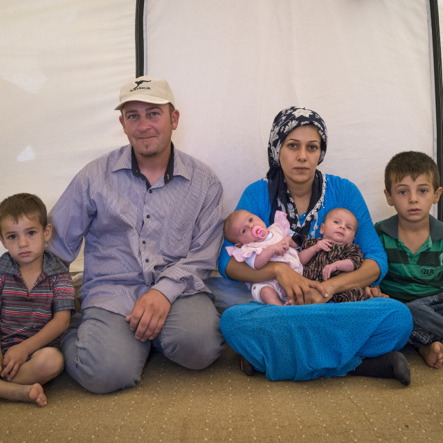 """Syrian Refugees, Erbil, Kurdistan, Iraq"" stock image"