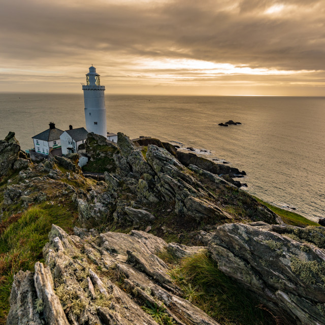 """Start Point Lighthouse"" stock image"
