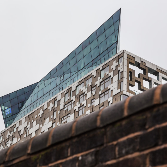 """""""The old and new of Birmingham"""" stock image"""