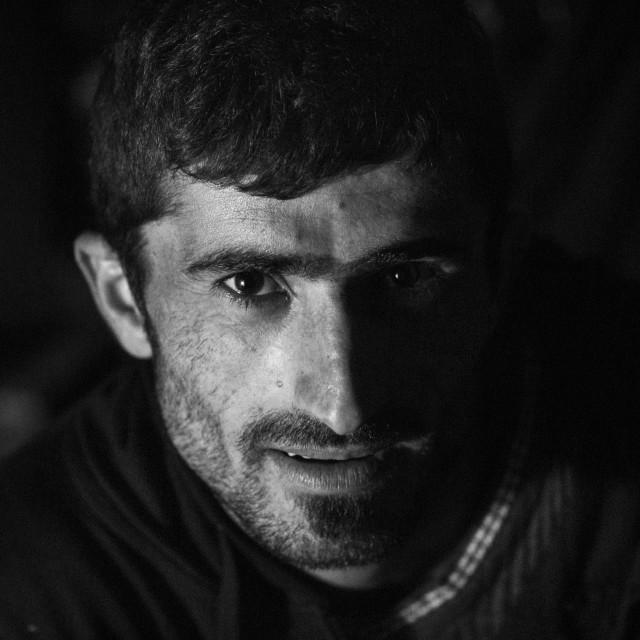 """Yezedi Refugee From Sinjar, Duhok, Kurdistan, Iraq"" stock image"