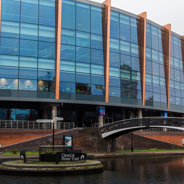 """""""Canal junction in Birmingham"""" stock image"""