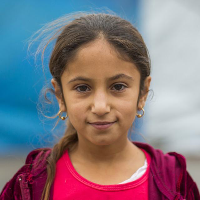 """Yezedi Refugee From Sinjar, Zohar, Kurdistan, Iraq"" stock image"