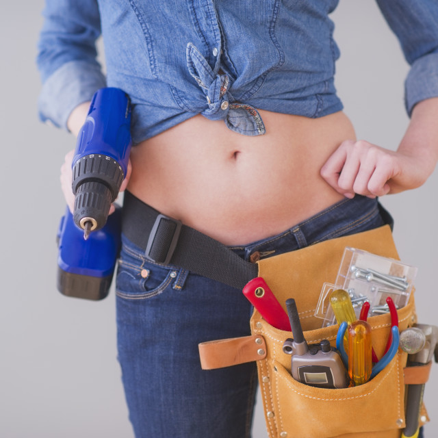 Sext nude with tool belt — photo 3