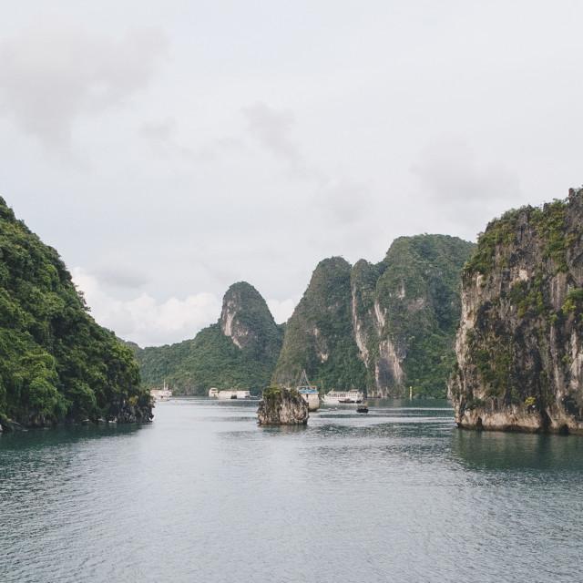 """Ha Long Bay"" stock image"