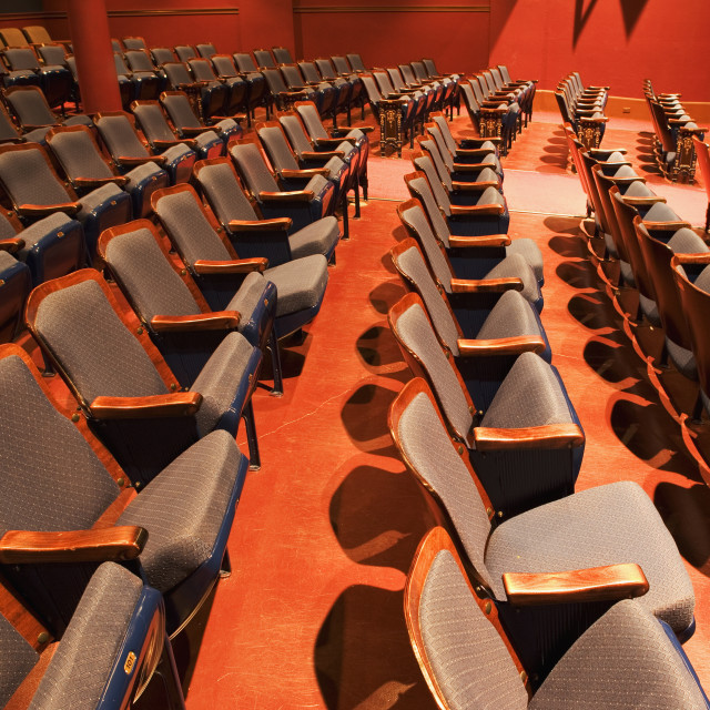 """theater seating"" stock image"