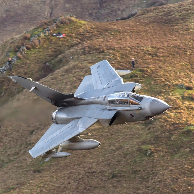 """Panavia Tornado GR4 - Royal Air Force."" stock image"