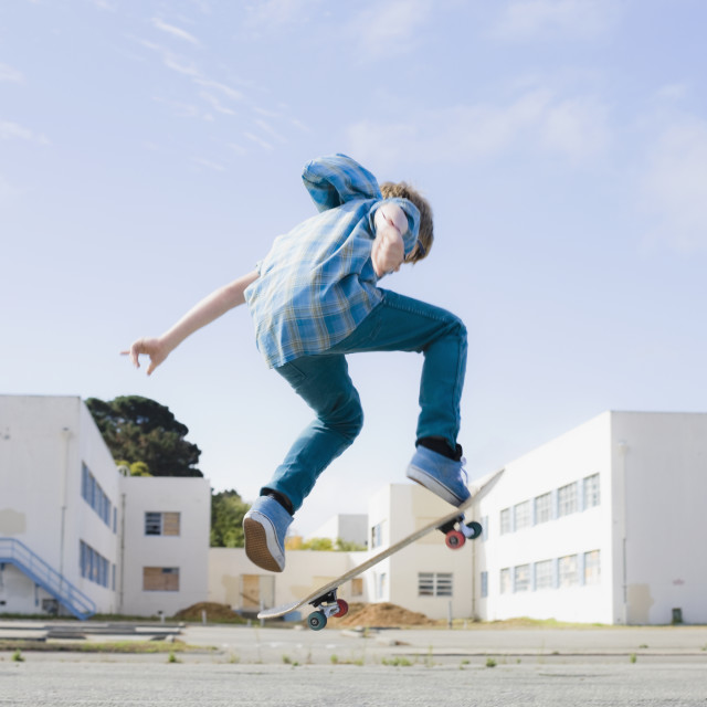 """Skateboarding"" stock image"