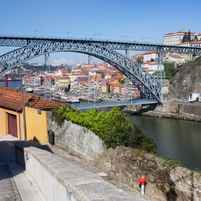 """Ponte Luiz I Between Porto And Gaia In Portugal"" stock image"