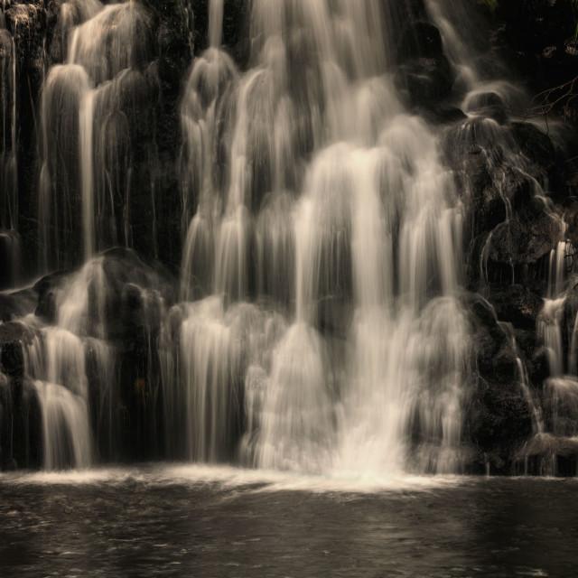 """Owharoa falls"" stock image"