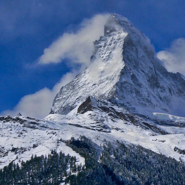 """""""The Matterhorn"""" stock image"""