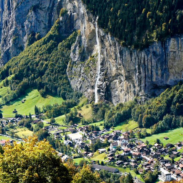 """Lauterbrunnen"" stock image"