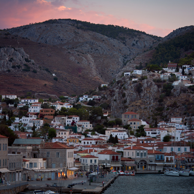 """Hydra island Greece"" stock image"