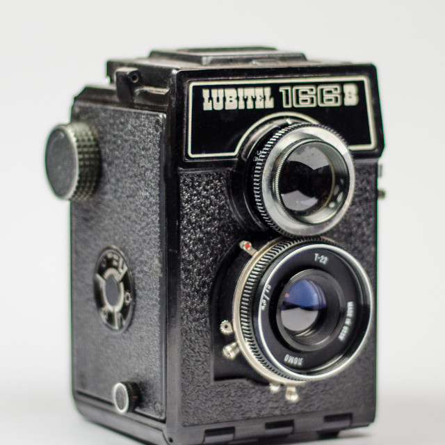 """Lubitel 166B Camera"" stock image"