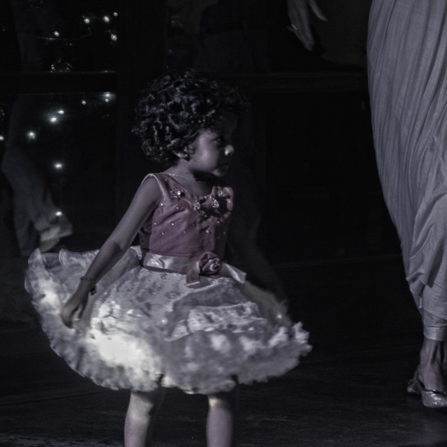 """Young dancing kid"" stock image"