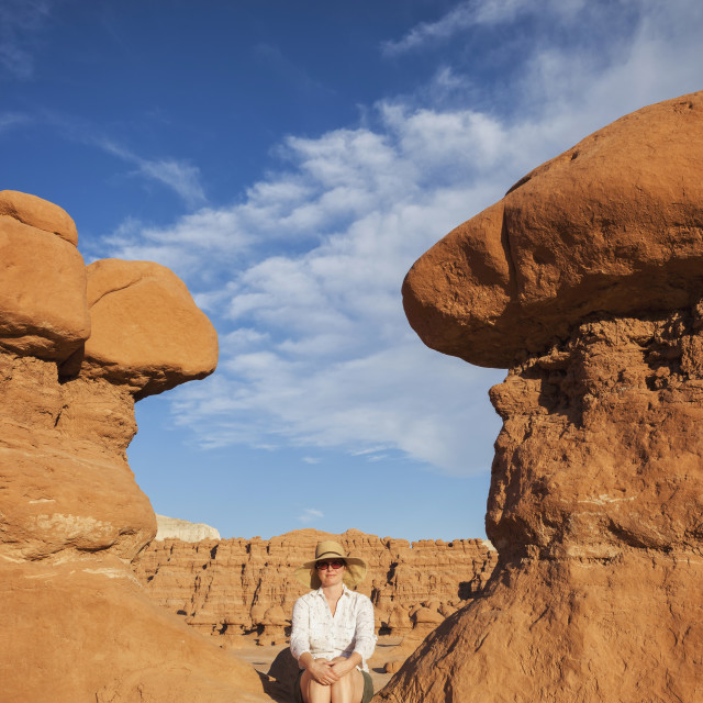 """Goblin Valley State Park"" stock image"