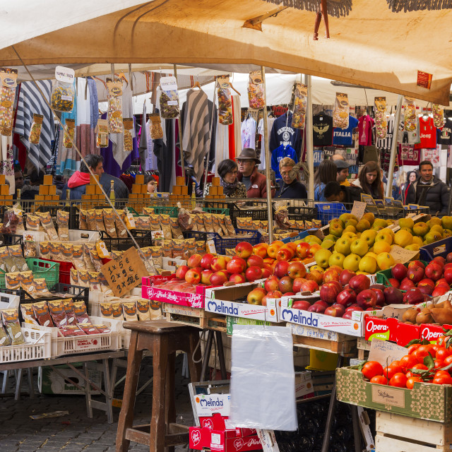 """fruits and vegetables on sale in the public market"" stock image"