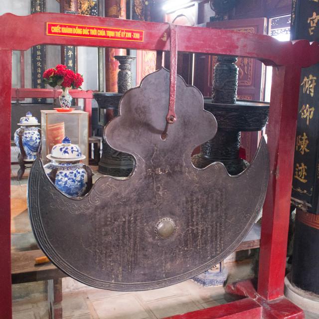 """Half-Moon Bell"" stock image"