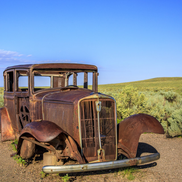 """""""Rust to Dust"""" stock image"""