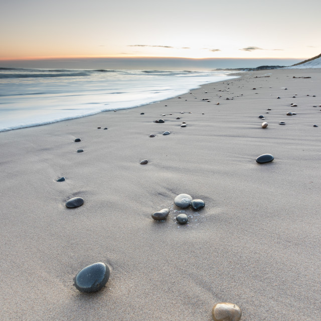 """Scattered Pebbles"" stock image"