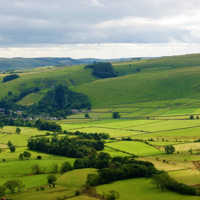 """The English Peak District."" stock image"