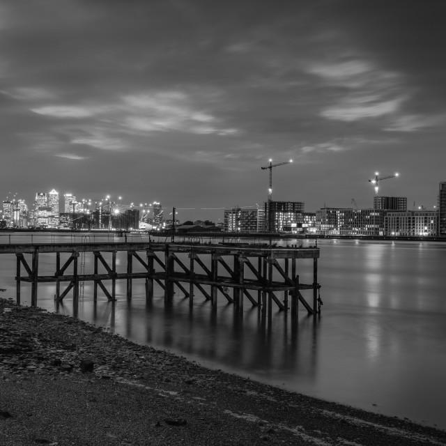 """""""Empty Pier"""" stock image"""