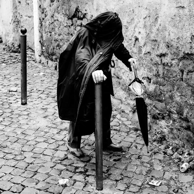 """""""Trastevere Rome"""" stock image"""
