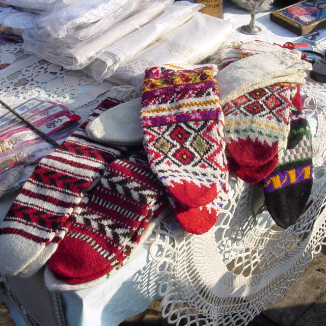 """Bulgarian Handicrafts Market"" stock image"