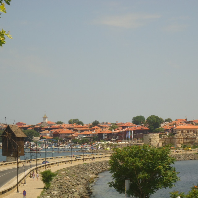"""""""Nessebar Old Town"""" stock image"""