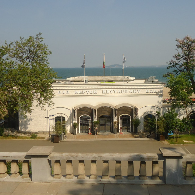 """Burgas Sea Gardens"" stock image"
