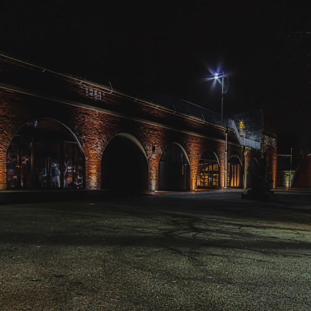 """""""The Arches."""" stock image"""