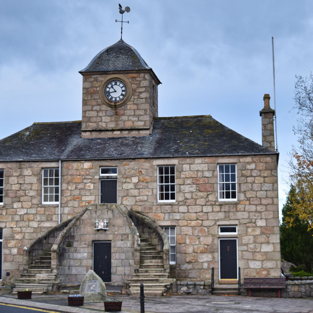 """Kintore Town House"" stock image"