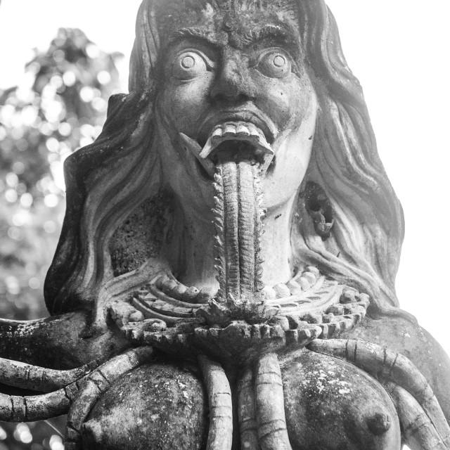 """Statue, Tirta Gangga, Bali, Indonesia"" stock image"