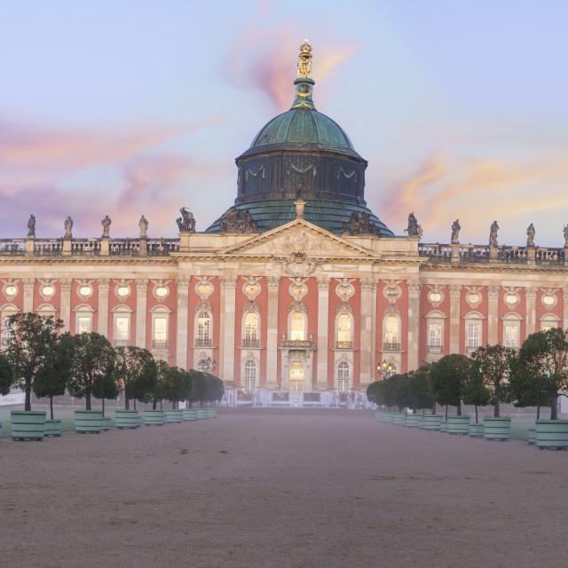"""Potsdam, Germany-October 2017: Potsdam - Castle in Sanssouci Par"" stock image"