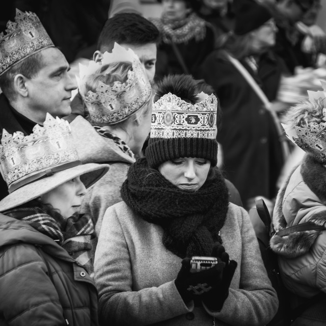 """Three Kings Day"" stock image"