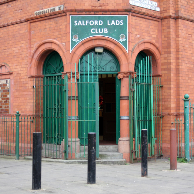 """Salford Lads Club"" stock image"